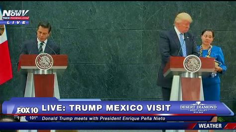 FNN: Donald Trump Meets With Mexico President Enrique Pena ...