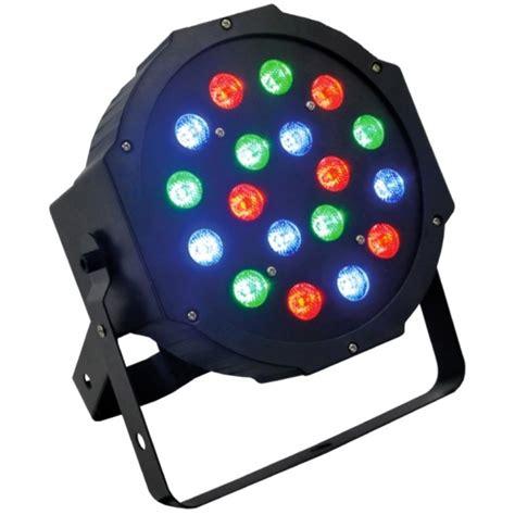 Foco Par 18 Led,rgb,dmx,luces De Color Para Fiestas ...