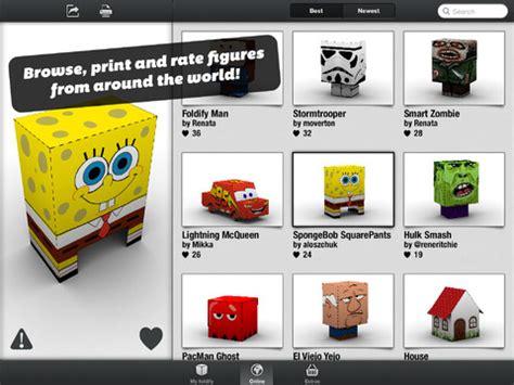 Foldify: aplicación para iPad que permite crear plantillas ...