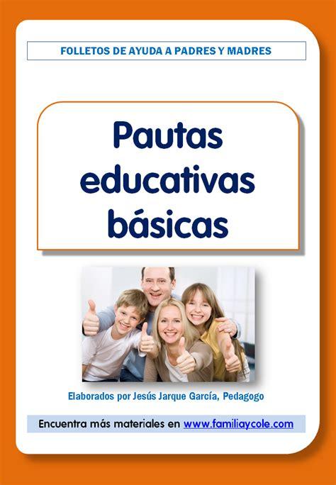 FOLLETOS PARA FAMILIAS | Jesús Jarque García
