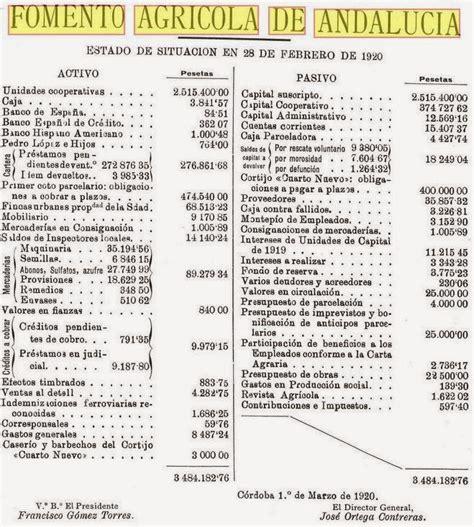 Fomento Agrícola de Andalucía. | Aportes para una Historia ...