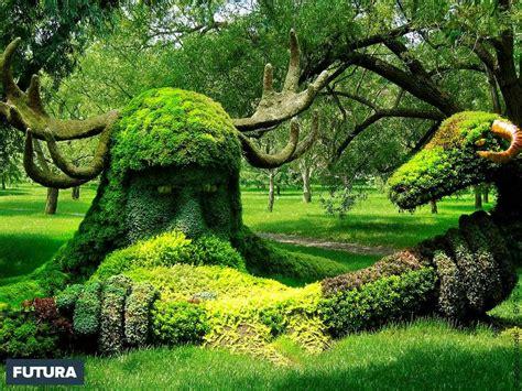 Fond d'écran | L'homme cerf et le bélier, jardin botanique ...