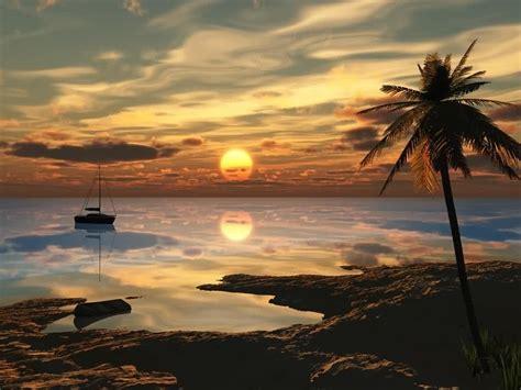 FONDITOS: Playa - 3D, Paisajes, cad