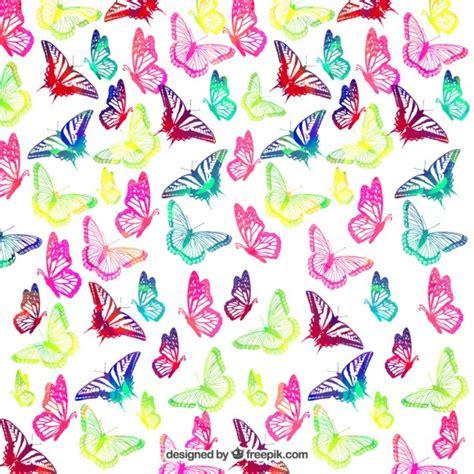 Fondo de mariposas de colores | Descargar Vectores gratis