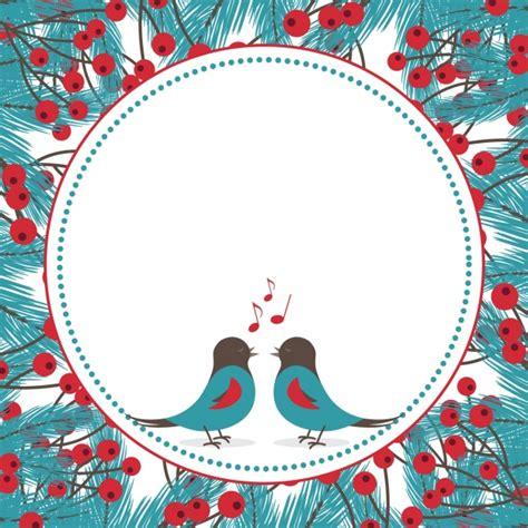 Fondo de pájaros cantando con muérdago | Descargar ...