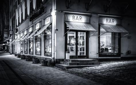 Fondo de Pantalla de Bar, Restaurante, Café, Ciudad, En ...