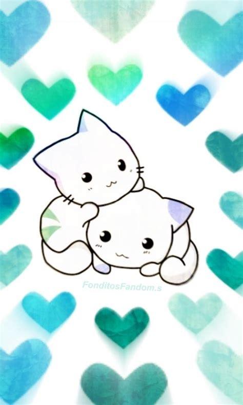 Fondo de pantalla de gatitos kawaii!  IG: @fonditosfanfom ...