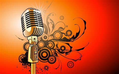 Fondo de pantalla micrófono musical dinamico