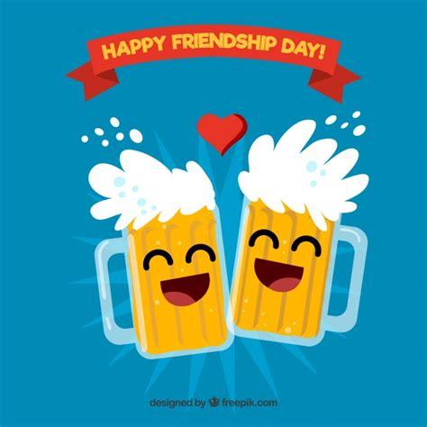 Fondo del día de la amistad con cerveza   Descargar ...