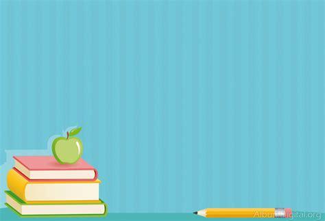 Fondo escolar Hofmann para album classic libros y manzana