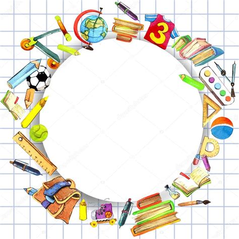fondo escolar para niños — Foto de stock © dobrynina_art ...
