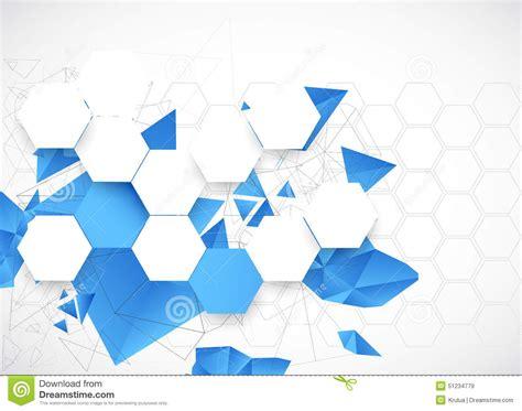 Fondo Futurista Azul Abstracto Para Los Trabajos Del ...