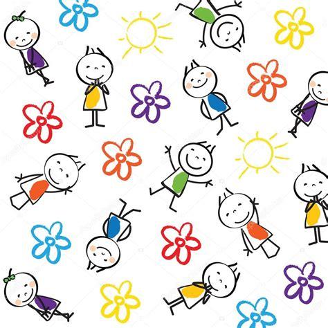 Fondo para niños — Vector de stock © justaa #42019849