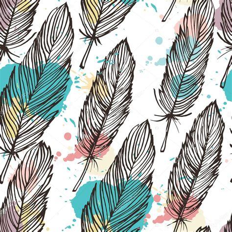 Fondo transparente de plumas color pastel — Vector de ...