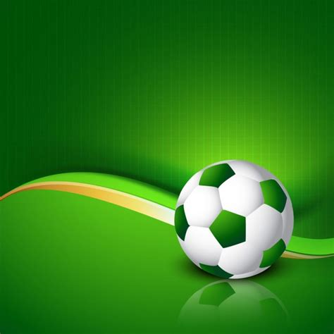 Fondo verde de fútbol   Descargar Vectores gratis