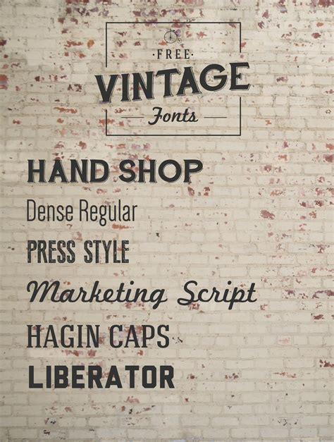 Font Must Haves 004: Free Vintage Fonts | Jillianastasia ...