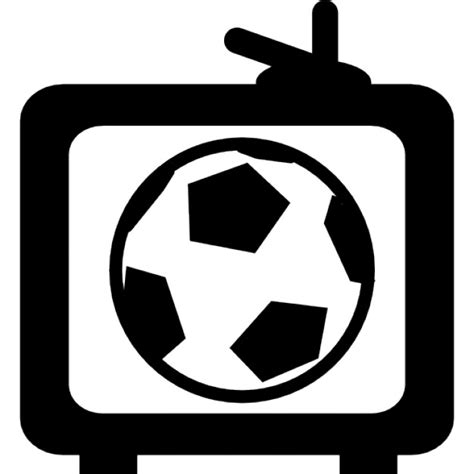 Football game on TV Icons | Free Download