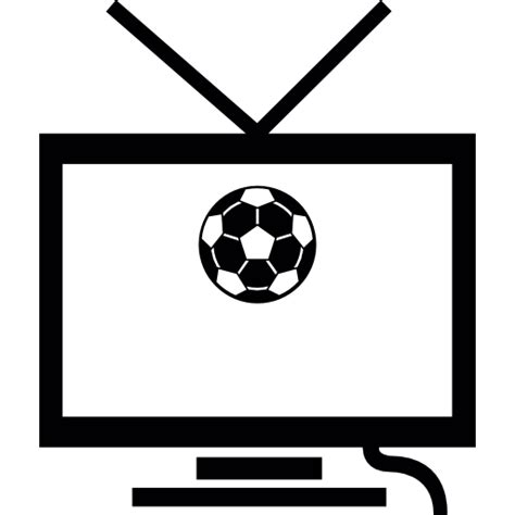 Football Match On TV   Free sports icons