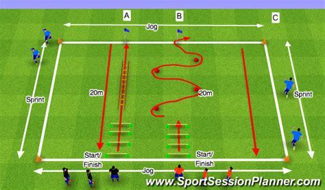 Football/Soccer: Speed & Agility  Physical: Speed, Difficult