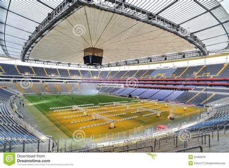 Football Stadium Arena In Frankfurt Editorial Stock Photo ...
