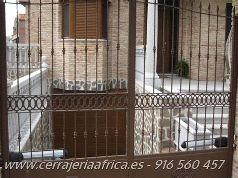 Forja de hierro forjado en Madrid   cerrajeriaafrica.com