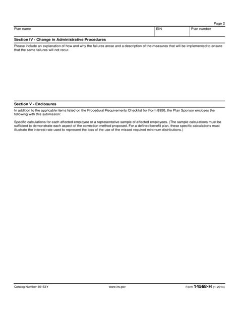 Form 14568 H   Failure to Pay Required Minimum ...