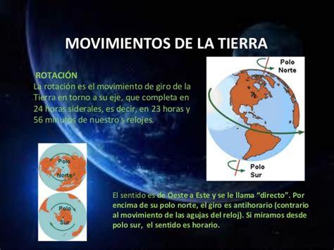 Forma y movimientos de la tierra