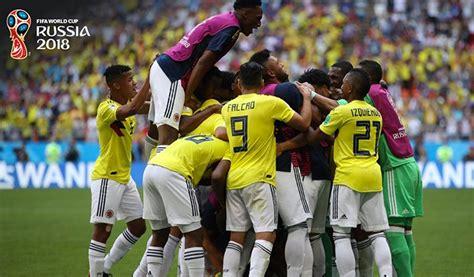 Formación de la Selección Colombia vs Inglaterra en el mundial