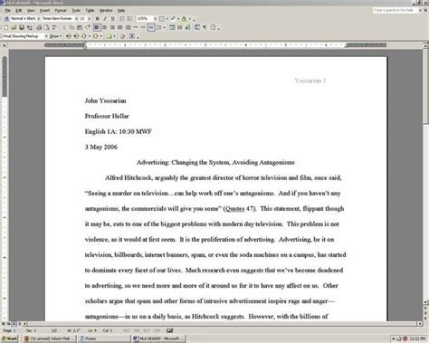 Formal essay heading - Why worry about the dissertation