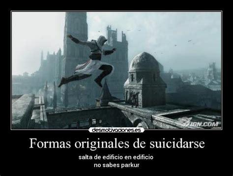Formas originales de suicidarse | Desmotivaciones