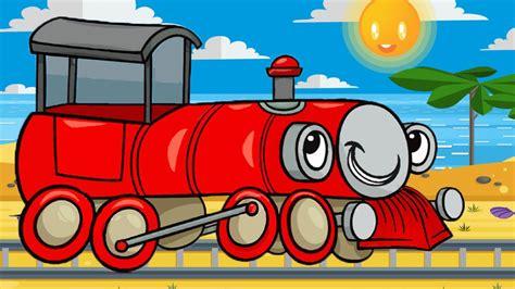 Formas y rompecabezas para niños - Trenes infantiles ...