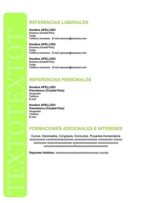 Formatos De Resume Gratis. modelos de resume modelo ...