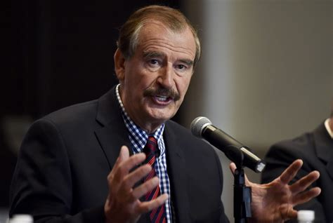 Former Mexican president Vicente Fox in f-word outburst ...