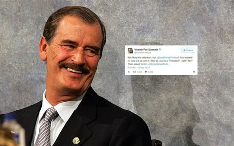 Former Mexican President Vicente Fox Taunts Trump on ...