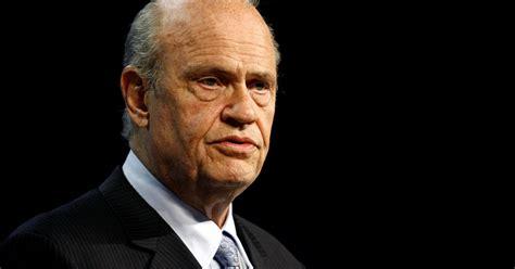Former U.S. senator Fred Thompson dies