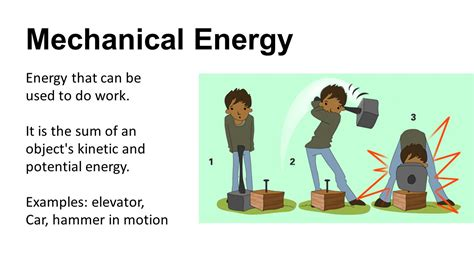 Forms of Energy Energy – the ability to do work or cause ...