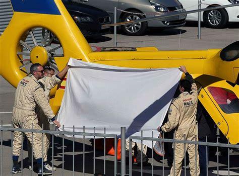 Fórmula 1: Alonso sufrió un accidente en los tests y fue ...