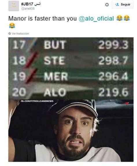 Fórmula 1: Los memes de Fernando Alonso en Spa - AS.com