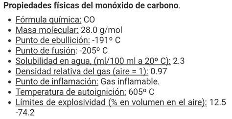 formula del monoxido de nitrogeno - Brainly.lat