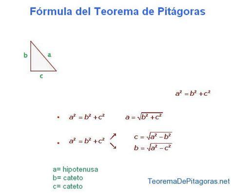 Formula of the Pythagorean Theorem | Pythagorean theorem