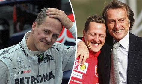 Formula One legend Michael Schumacher is 'reacting' to ...