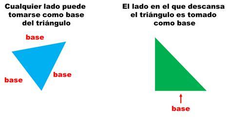 fórmula para obtener el área del triángulo | matematicas ...