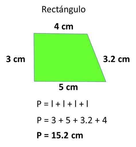 fórmula para obtener el perímetro del trapecio ...