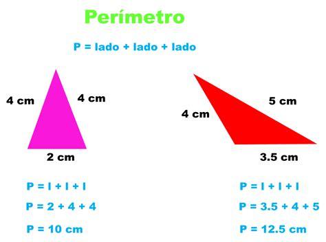 fórmula para obtener el perímetro del triángulo ...