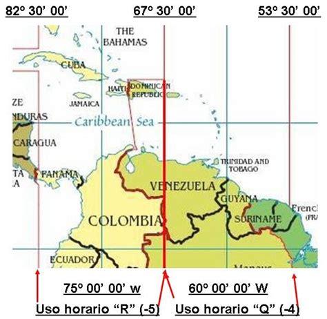 FORO CONCIENCIA ACUÁTICA: Venezuela y sus Husos Horarios