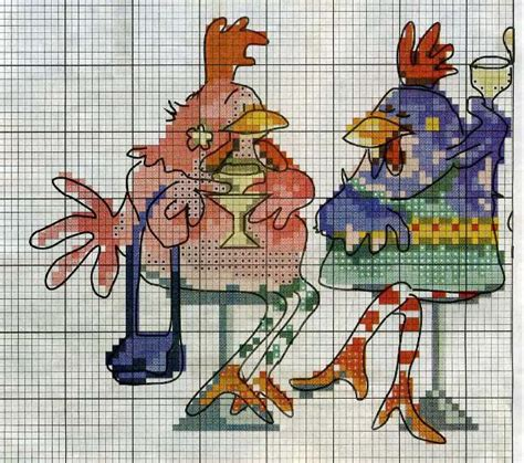 foro punto de cruz los foros enfemenino las gallinas ...