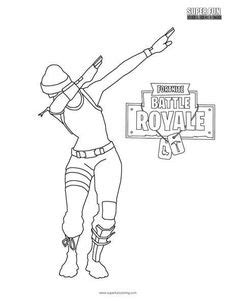 Fortnite Battle Royale Coloring Page | Fornite | Pinterest ...
