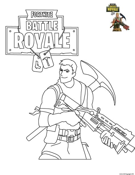 Fortnite Battle Royale coloring pages | Alejandro ...