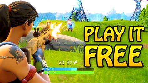 Fortnite Battle Royale Download Pc Free