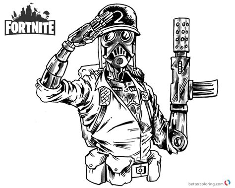Fortnite Coloring Pages Jason Young by Shonborn   Free ...